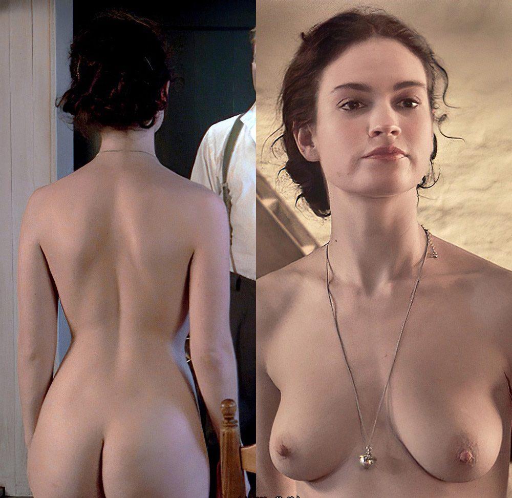 Lilly James Topless photo 30
