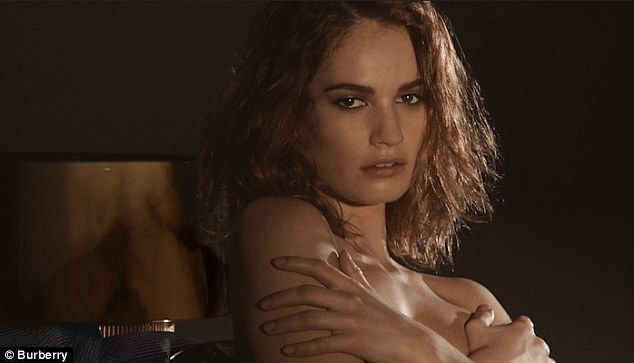 Lilly James Topless photo 14