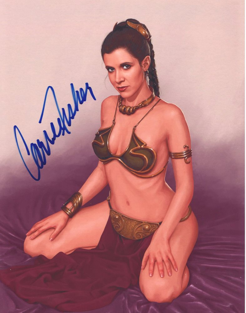 Sexy Carrie Fisher Pics photo 20