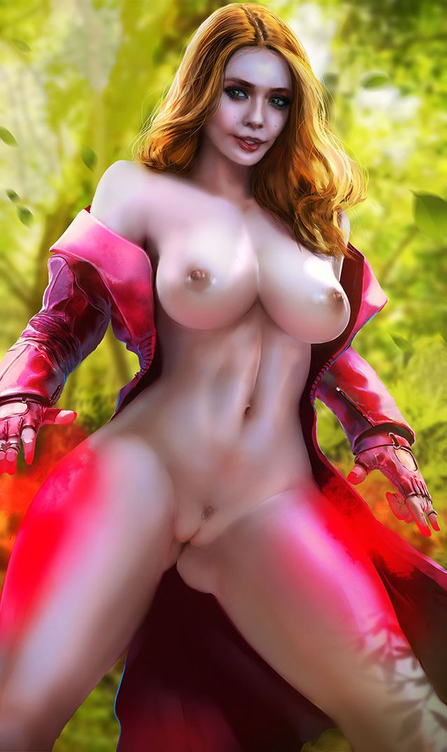 Scarlet Witch Nude photo 16