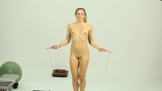Nude Workout Video photo 14