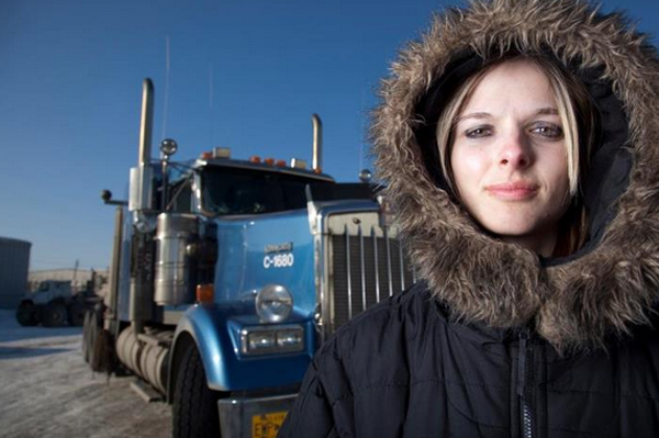 Ice Road Truckers Hot Chick photo 12