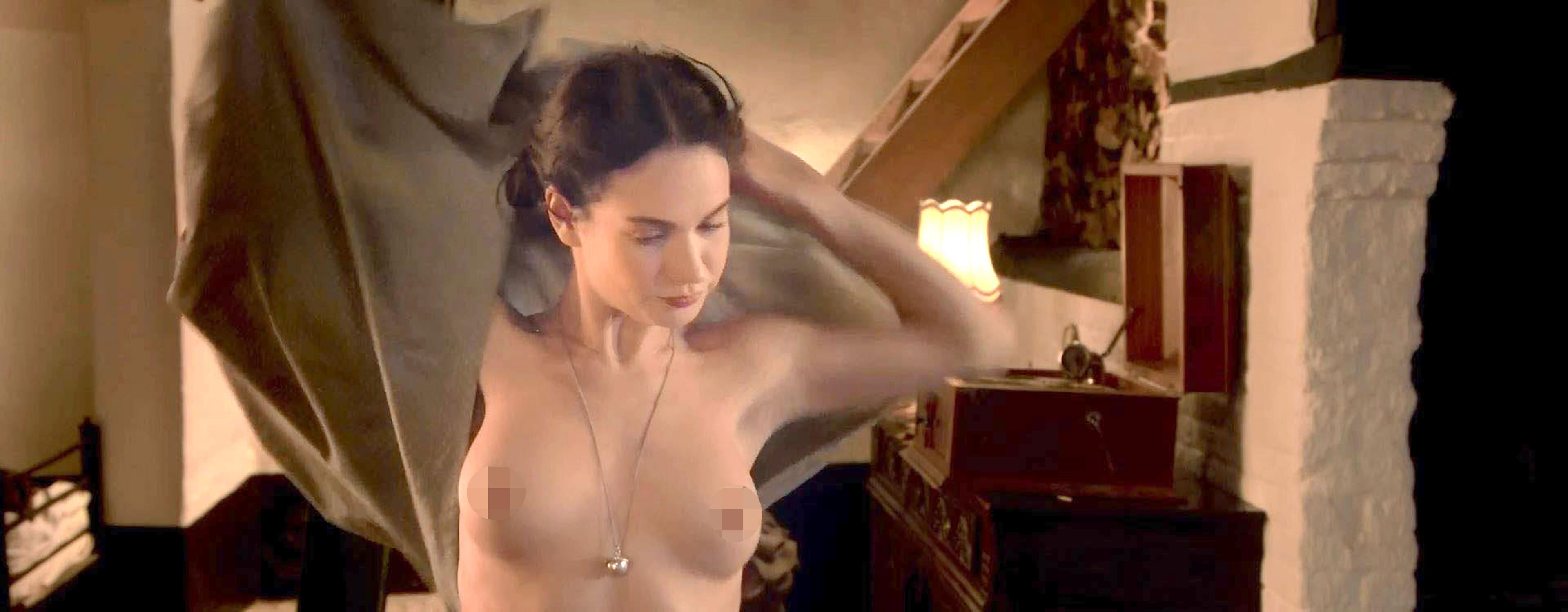 Lilly James Topless photo 11